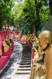 Dziesięcia Tysięcy Buddhas monaster (mężczyzna Gruby Sze) Obrazy Royalty Free
