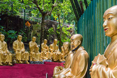 Dziesięcia Tysięcy Buddhas monaster (mężczyzna Gruby Sze) Zdjęcie Stock