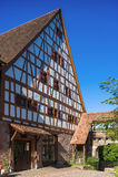 Dziesięciny stajnia z Fruchtkasten w Dornstetten Fotografia Royalty Free