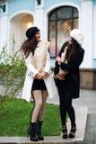 Dziewczyn śmiać się Fotografia Stock