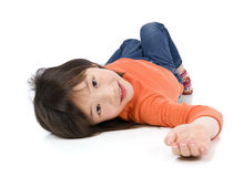 dziewczyn azjatykci potomstwa Fotografia Royalty Free