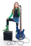dziewczyn basowi potomstwa Zdjęcie Royalty Free