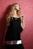dziewczyn blond potomstwa Obraz Royalty Free