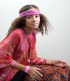 dziewczyn czarny potomstwa Fotografia Stock