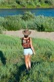 dziewczyn dancingowi potomstwa Fotografia Stock