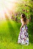 dziewczyn lasowi potomstwa Obraz Royalty Free
