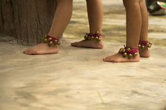Dziewczyn nóg tanczyć Obrazy Royalty Free