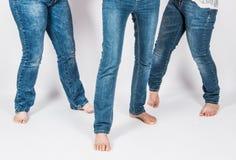 Dziewczyn nogi Fotografia Royalty Free