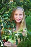 dziewczyn ogrodowi potomstwa Fotografia Royalty Free