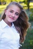 dziewczyn ogrodowi potomstwa Zdjęcia Stock