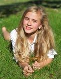 dziewczyn ogrodowi potomstwa Fotografia Stock