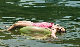 dziewczyn pływakowi potomstwa obraz royalty free