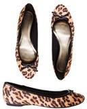 dziewczyn pantery buty obraz royalty free