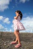 dziewczyn piękni potomstwa obraz royalty free