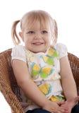 dziewczyn piękni potomstwa Zdjęcie Royalty Free