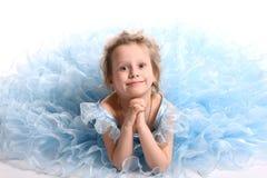 dziewczyn piękni potomstwa Obrazy Royalty Free