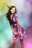 dziewczyn piękni potomstwa Fotografia Stock