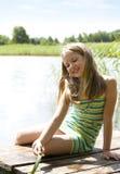 dziewczyn piękni smokingowi potomstwa Obrazy Royalty Free