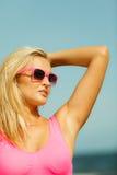 dziewczyn plażowi potomstwa Obraz Stock