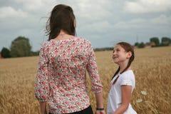 dziewczyn portreta potomstwa Zdjęcia Stock
