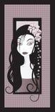 dziewczyn purpury Obrazy Stock