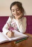 Dziewczyn studia Fotografia Stock