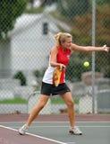dziewczyn szkoły średniej tenis Obrazy Stock