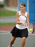 dziewczyn szkoły średniej tenis Obraz Royalty Free