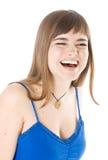 dziewczyna śmia się potomstwa zdjęcia royalty free