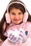 dziewczyna śnieg zdjęcie royalty free