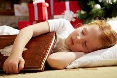 dziewczyna śpi fotografia stock