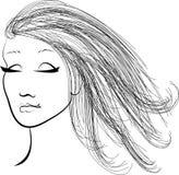 Dziewczyna royalty ilustracja