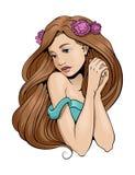 Dziewczyna 03 Zdjęcia Royalty Free