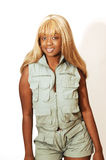 dziewczyna 90 safari ogólnych jamajskich potomstwa Obraz Royalty Free