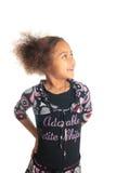 dziewczyna amerykańska piękna czerń c dzieci dziewczyna Obrazy Royalty Free
