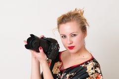 dziewczyna atrakcyjny portret zdjęcia stock