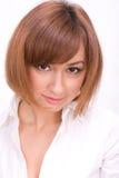 dziewczyna atrakcyjny portret Fotografia Stock