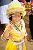 Dziewczyna Azja plemienia wzgórze Obrazy Stock