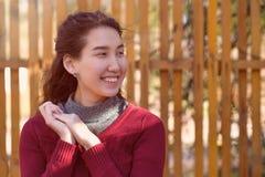 dziewczyna azjatykci portret Obrazy Stock
