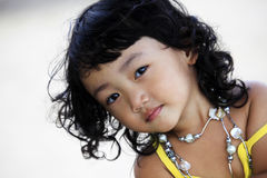 dziewczyna azjatykcia Obraz Royalty Free