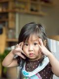 dziewczyna azjatykcia trochę Obraz Stock