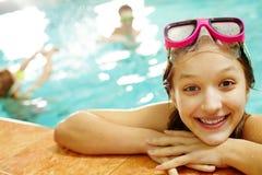 dziewczyna basen Obrazy Stock
