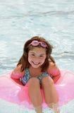 dziewczyna basen zdjęcia stock