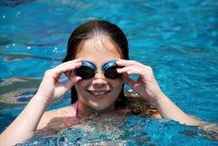 dziewczyna basen Zdjęcie Royalty Free