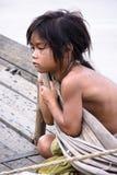 dziewczyna beznadziejna Fotografia Royalty Free