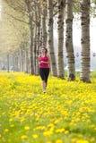 dziewczyna bieg Fotografia Stock