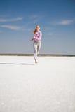 dziewczyna bieg Fotografia Royalty Free