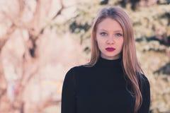 dziewczyna blondy Fotografia Royalty Free
