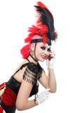dziewczyna burleski Zdjęcia Stock