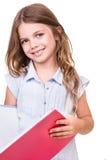Dziewczyna chwyta książkę Obraz Stock